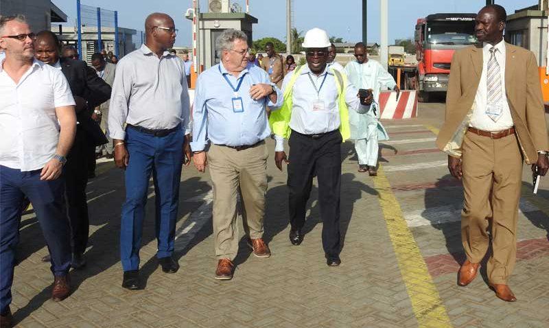 Parlementaires Francophonie Port Lomé