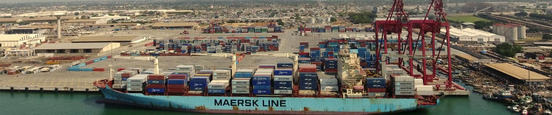 Plus de 2600m de quais au Port Autonome de Lomé