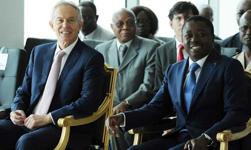 Visite du Président de la République & de Tony Blair