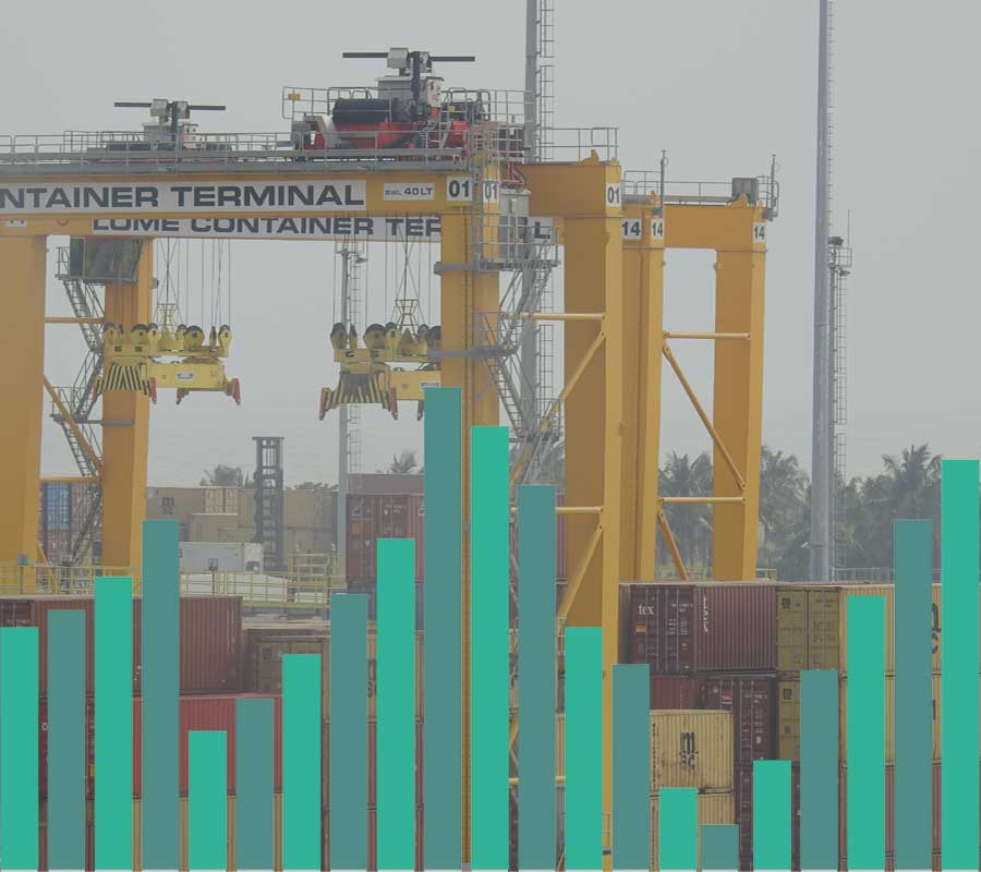 Trafic global port autonome lome