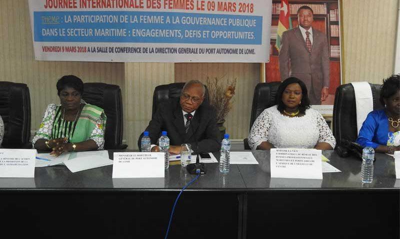 JOURNÉE DE LA FEMME AFRICAINE AU PORT AUTONOME DE LOME
