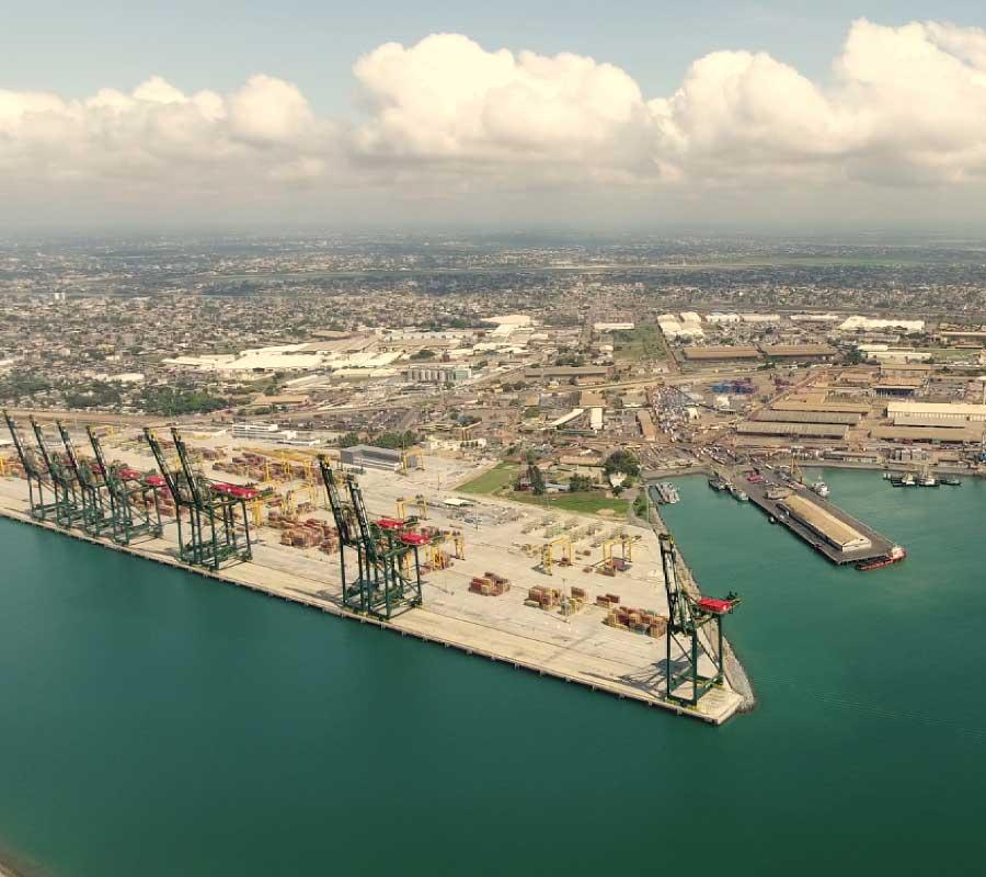 Installation portuaire port autonome de Lomé