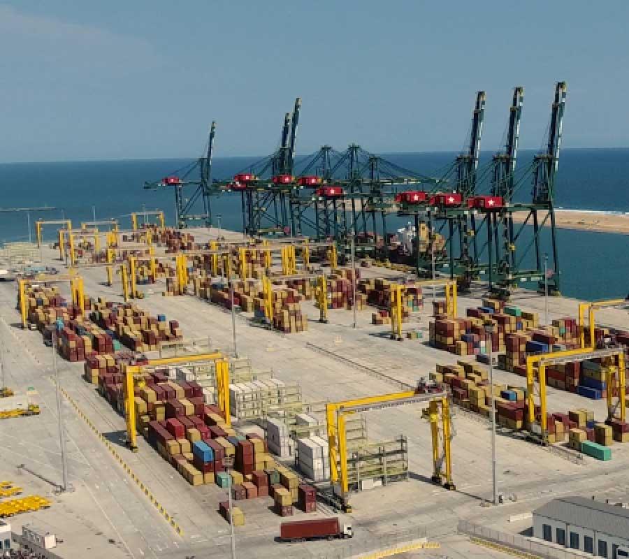 Présentation du Port de Lomé
