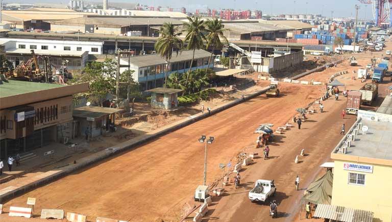 Voirie intérieure Port Autonome Lomé
