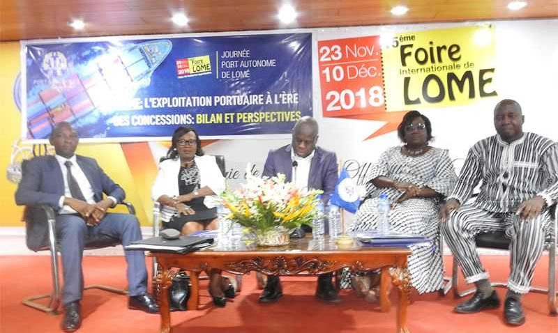 JOURNEE DU PORT AUTONOME DE LOME A LA 15EME FOIRE INTERNATIONALE DE LOME