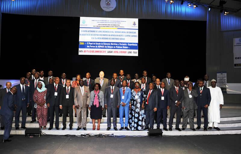Les Ports de L'Afrique de l'Ouest et du Centre sont à Lomé