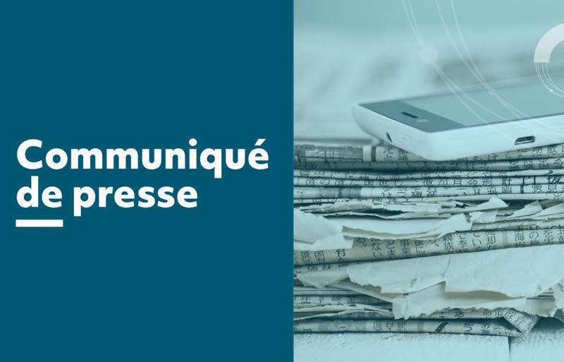 COMMUNIQUE DE PRESSE EN LIEN AVEC LA DÉMATÉRIALISATION